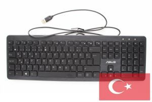 Teclado Turco QWERTY con cable para All-in-One