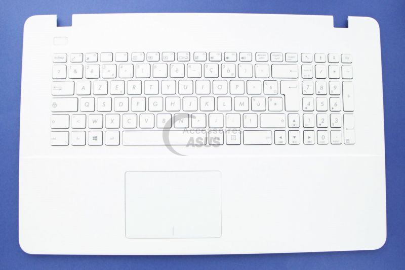 Teclado blanco AZERTY
